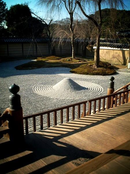 高台寺 枯山水庭園