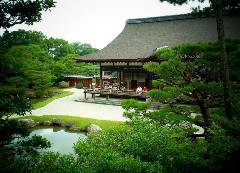 仁和寺 宸殿と北庭
