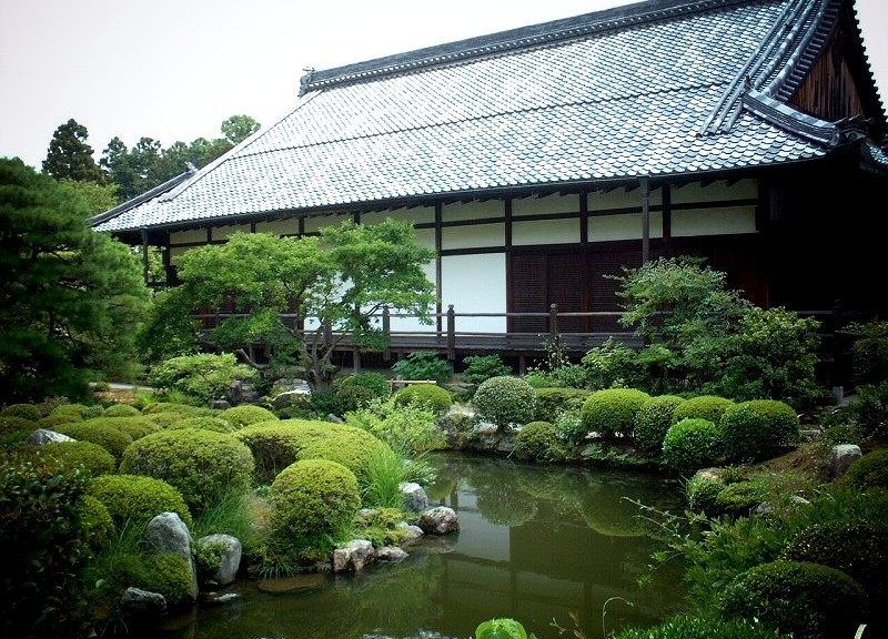 等持院 方丈と庭園