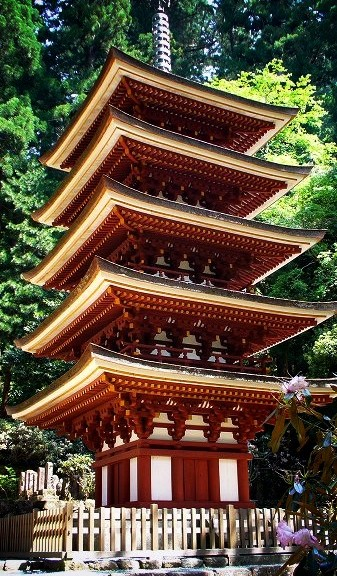 室生寺 国宝五重塔
