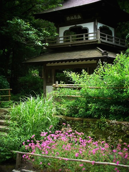浄智寺 鐘楼門