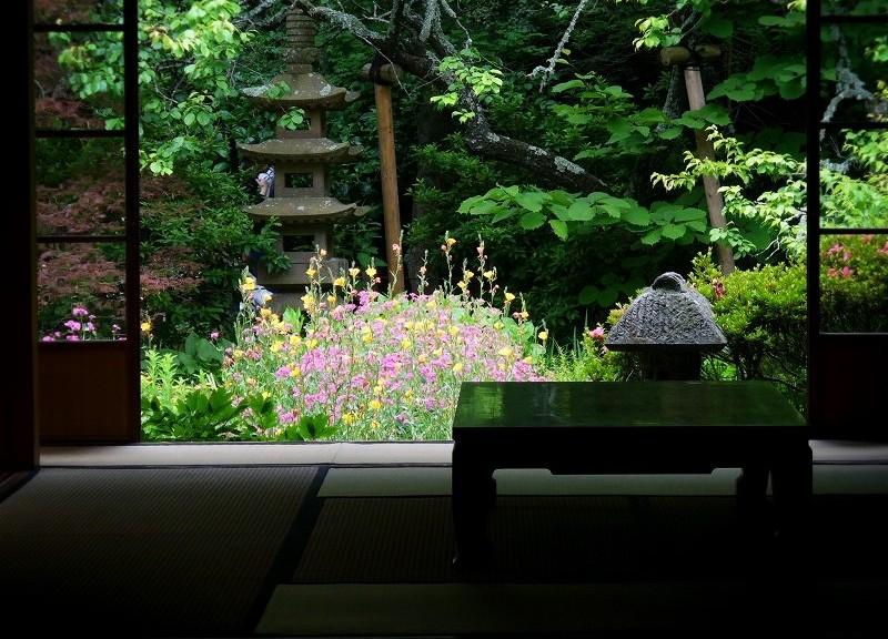 浄智寺 和室と庭園