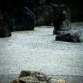 実相院 庭園と石仏