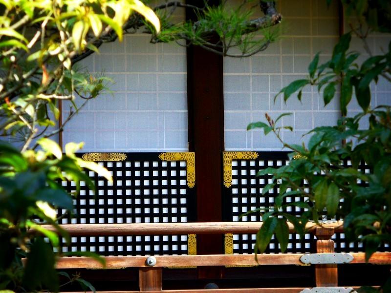 京都御所:紫宸殿裏