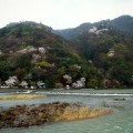 京都嵐山全景