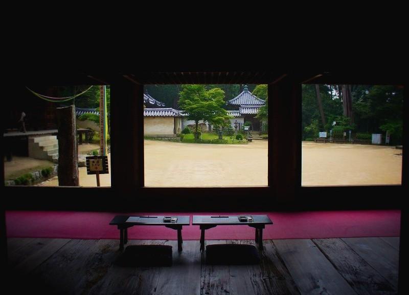 圓教寺 食堂にて
