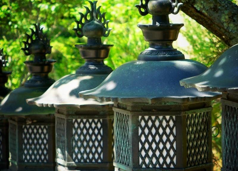 長弓寺 灯籠