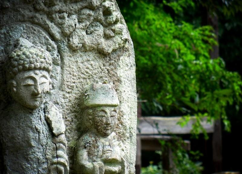 朝光寺:境内の石仏