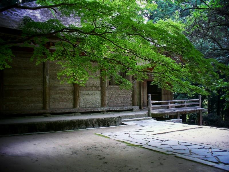 室生寺 金堂にて