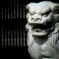苗村神社の狛犬