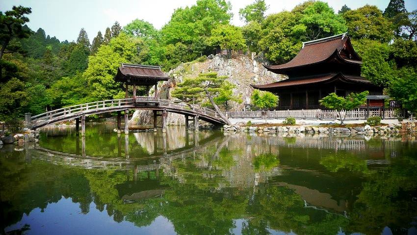 永保寺 観音堂と無際橋