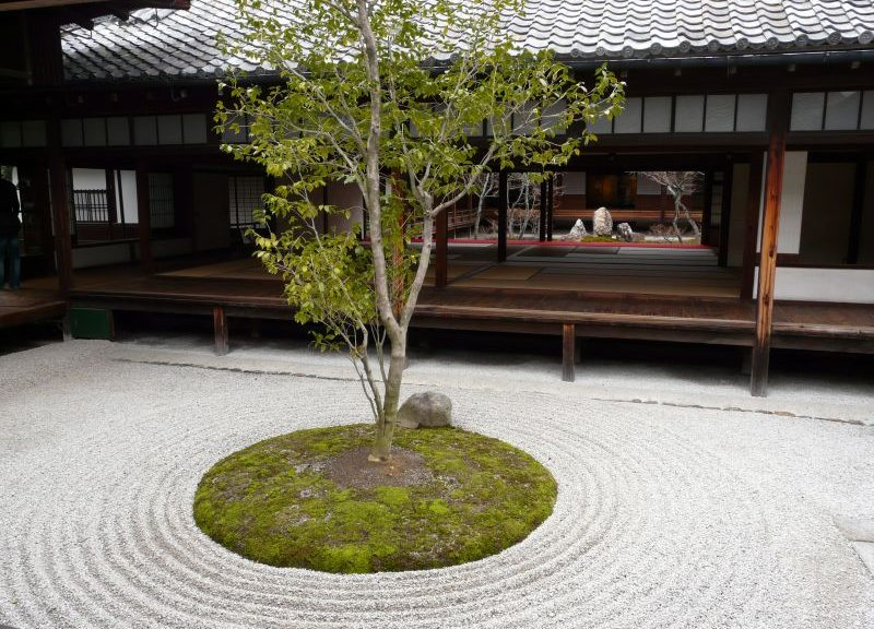 建仁寺 ○△□の庭